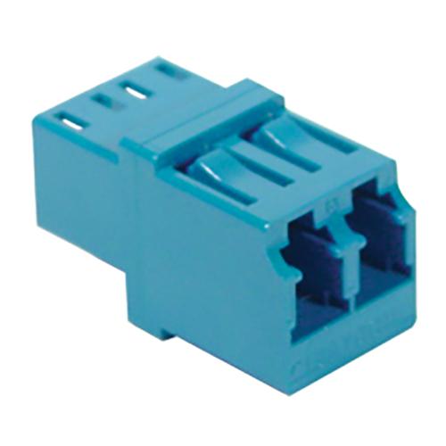 LC Duplex Fiber Optic Adapter with Ceramic Sleeve