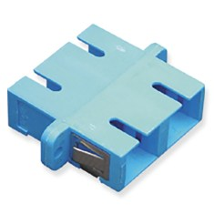 SC Duplex Fiber Optic Adapter with Ceramic Sleeve
