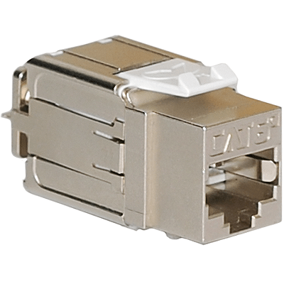 CAT 6A RJ45 Keystone Jack in FTP for HD Style