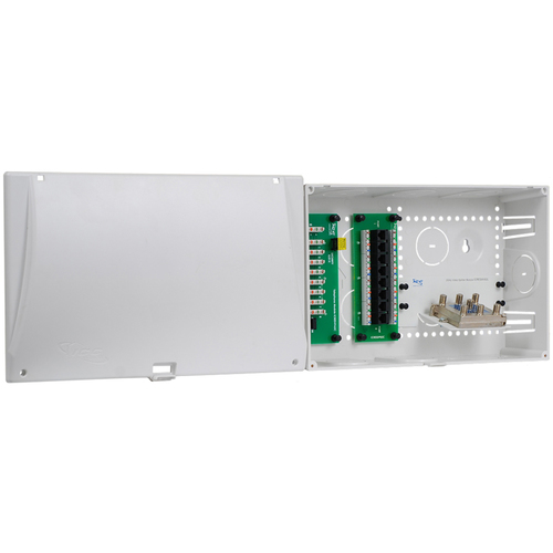 "9"" Wiring Enclosure Combo with Voice, Data and Video"