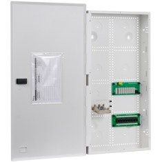 """28"""" Wiring Enclosure Combo with Voice, Data and Video"""