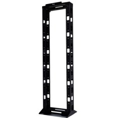 7ft Cable Management Rack with 2 Post and 44 RMS