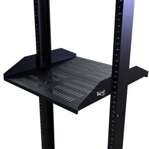 """20"""" Deep Double Sided Rack Shelf Vented with 2 RMS"""