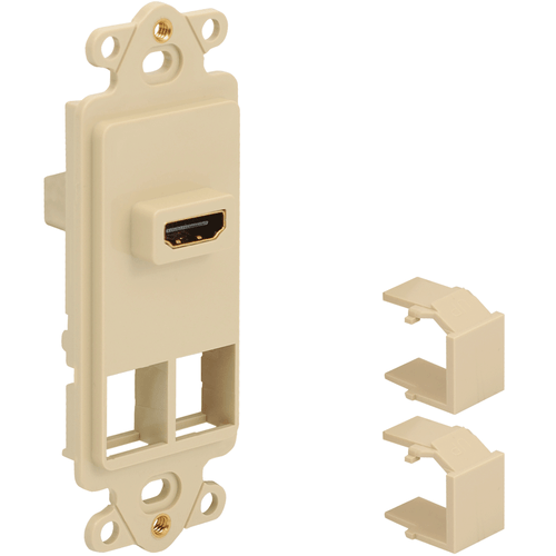 Decorex Insert with 1 HDMI Connector and 2 Ports for HD Style