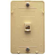 Telephone Wall Plate in 6P6C