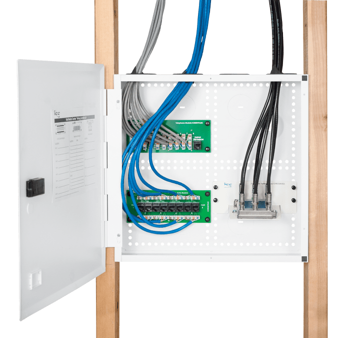 """14"""" Wiring Enclosure for Single Family and Tract Homes"""