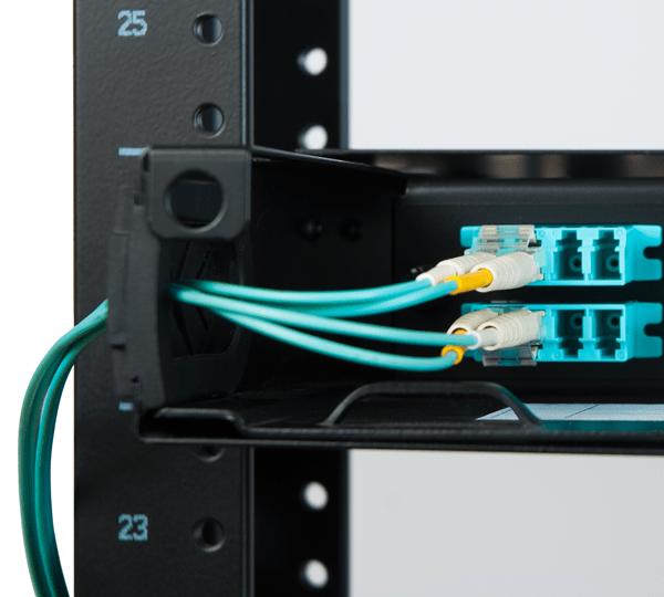 Fiber Optic Enclosure with LC Fiber Patch Cord