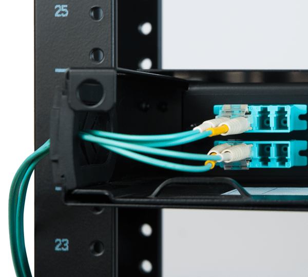 Fiber Optic Enclosure with LC Fiber Patch Cord