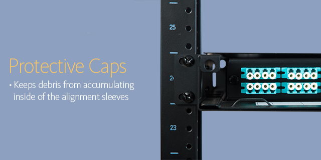 Protective caps •Keeps debris from accumulating inside of the alignment sleeves