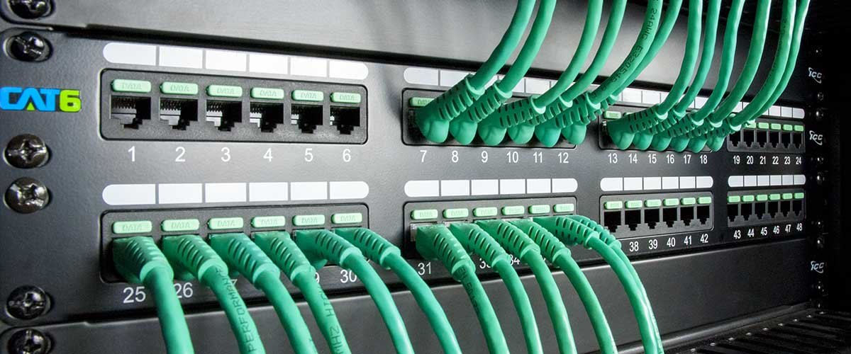 icc success story cat6 structured cabling system