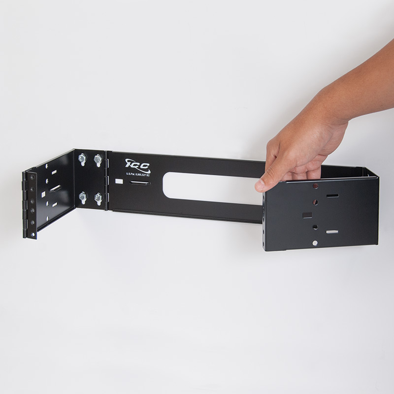 Wall Mount Hinged EZ-FOLD™ Bracket