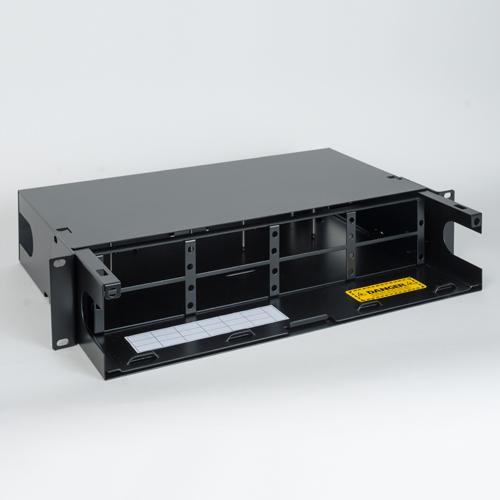 ICFORE82RM Fiber Optic Rack Mount Enclosure 8 Panel 2 RMS 45