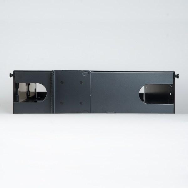 HD Fiber Optic Rack Mount Enclosure 8 Panels 2 RMS Side ICFORE82RM