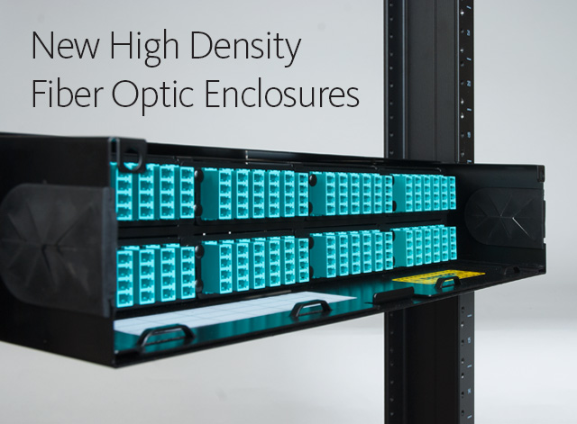 New High Density Fiber Optic Enclosures