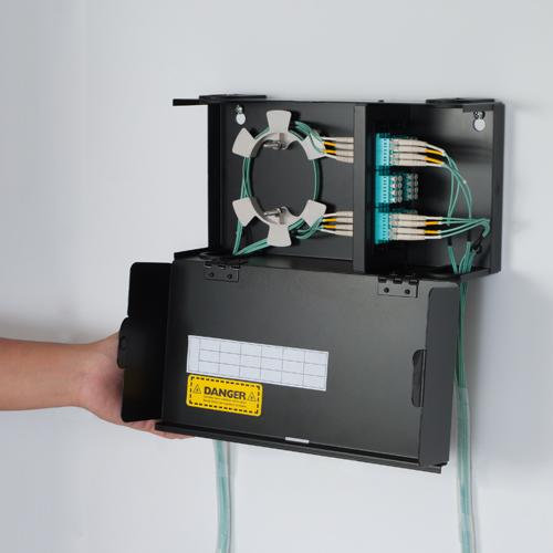 Wall Enclosure Fiber 2 Panel Single Door App - ICFODE21WM