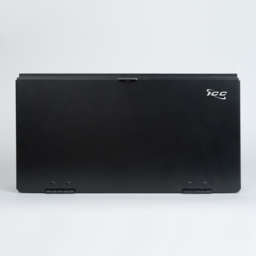 Wall Enclosure Fiber 2 Panel Single Door Cover - ICFODE21WM