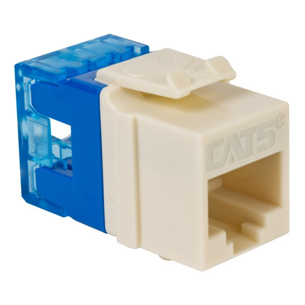 CAT5e RJ45 Almond Keystone Jack HD IC1078F5AL