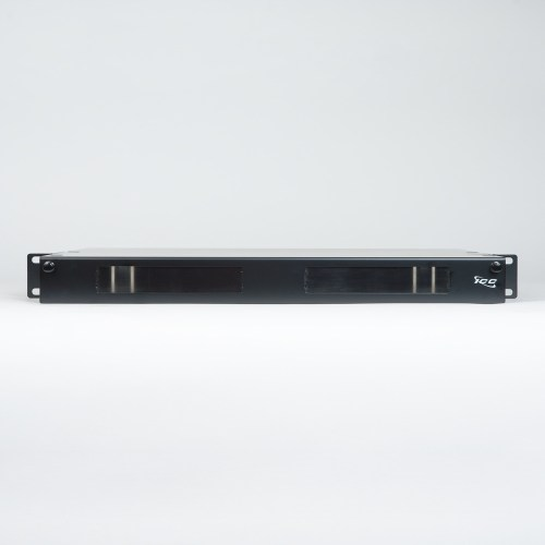 Fiber Optic Rack Mount Enclosure 4 Panel 1 RMS Front