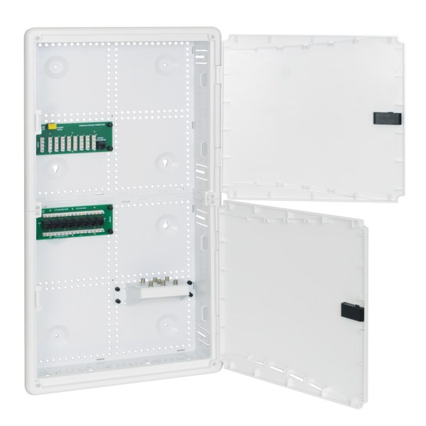 28-inch Plastic Wiring Enclosure Combo with Doors ICRESDP28K