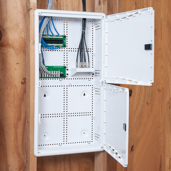 28 inch Plastic Wiring Enclosure for Wireless Networks