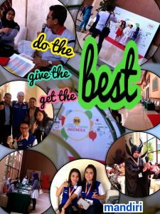 Do the best, give the best and get the best