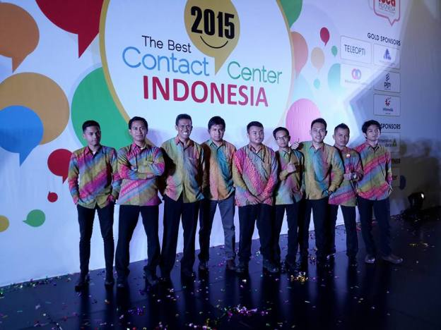 Pemenang The Best Contact Center Indonesia 2015