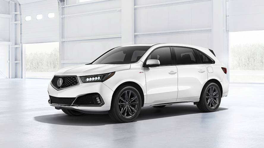 2019 Acura MDX Debuts With Nicer Interior Sporty A Spec Trim