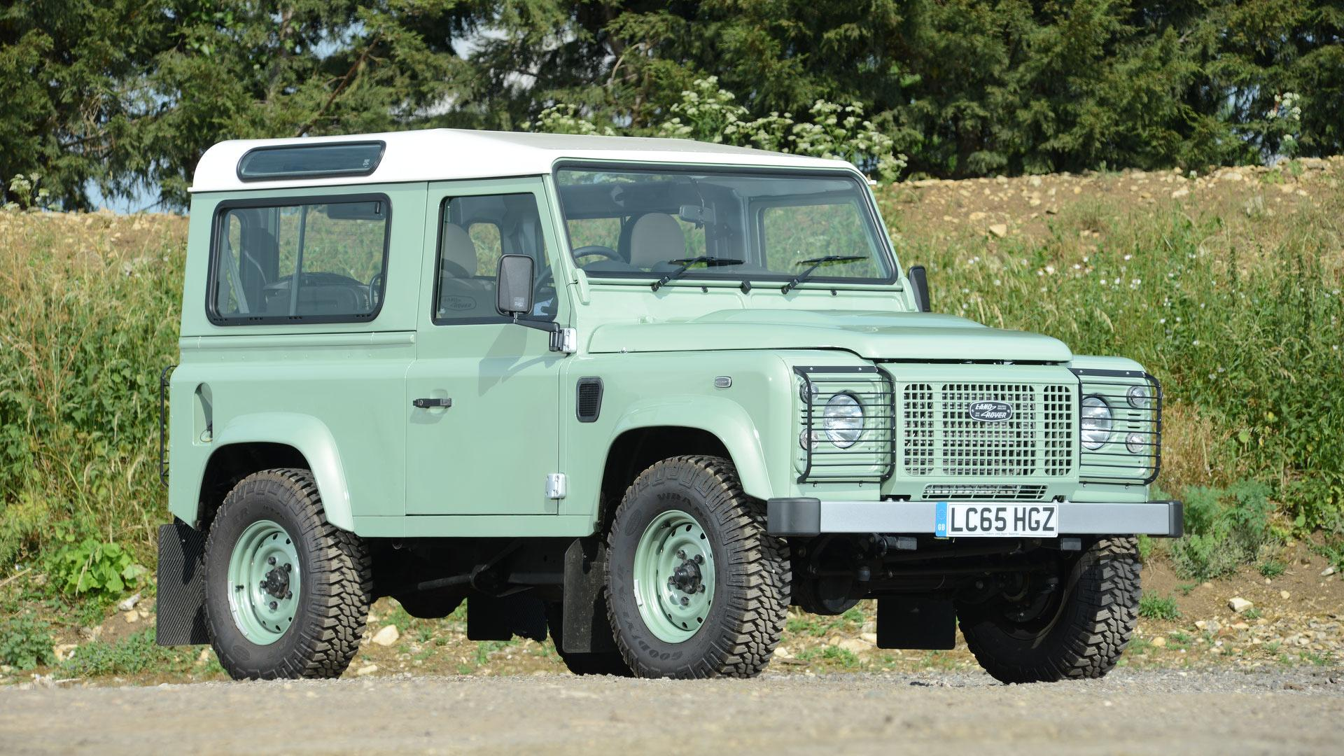 Rowan Atkinson s Rare Land Rover Defender Up For Auction