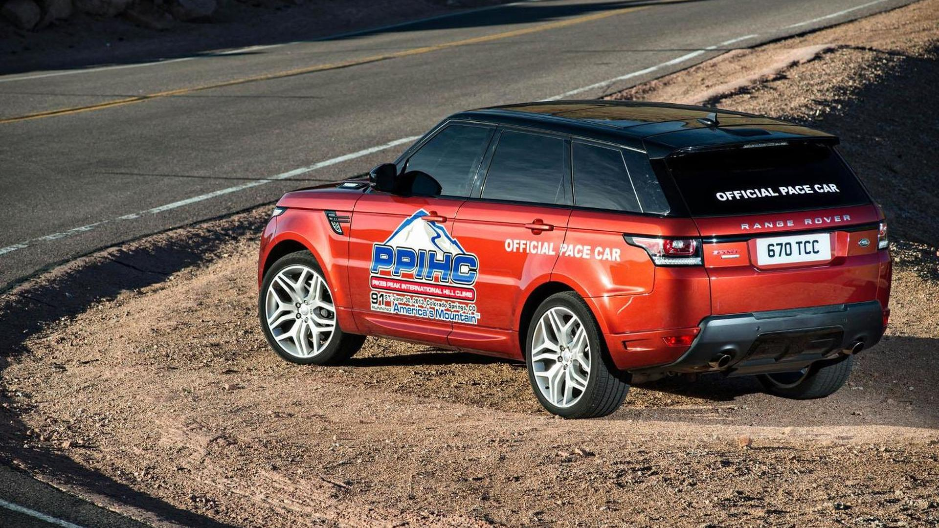 Range Rover Sport pace car unveiled for Pikes Peak