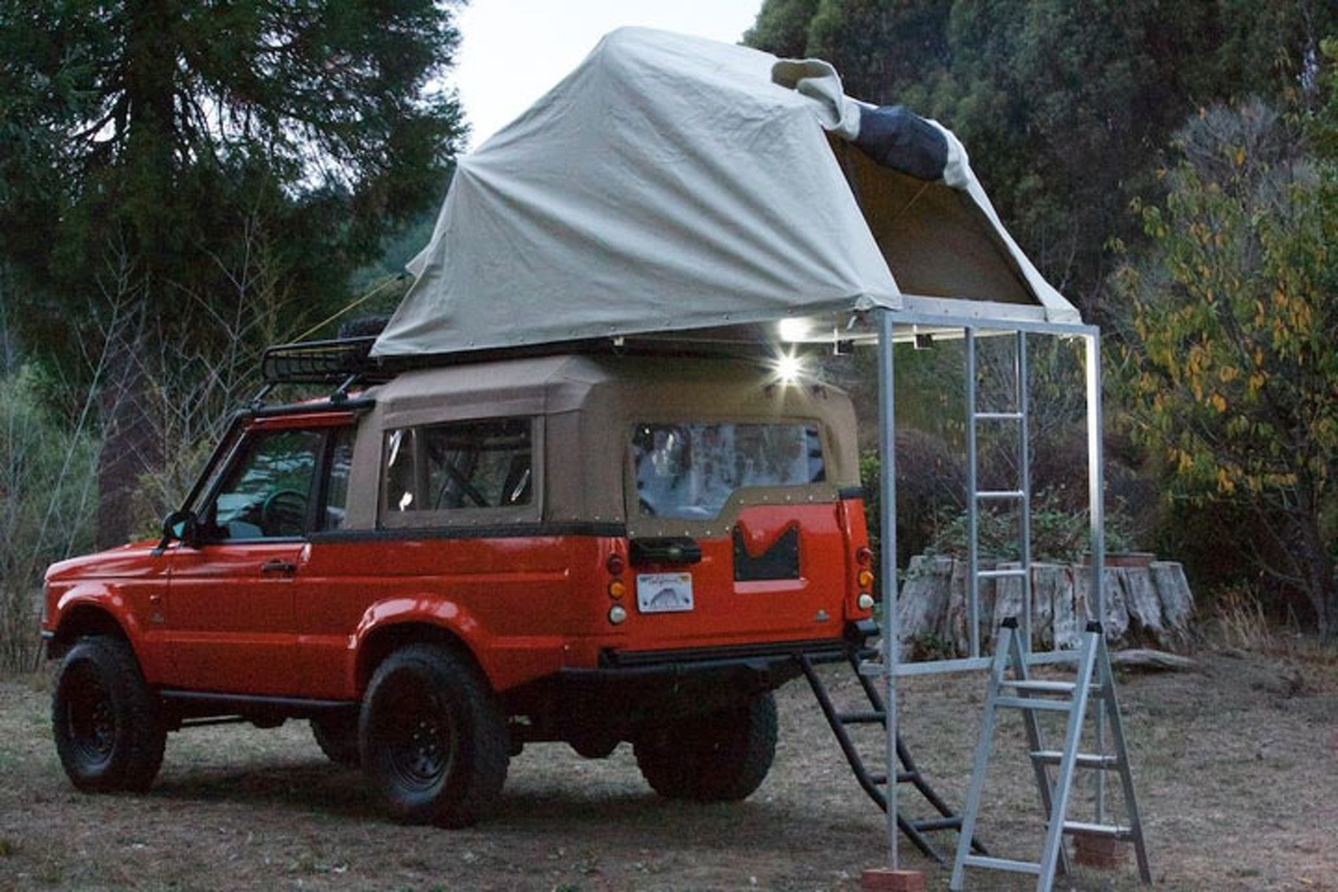 Land Rover Discovery 2 Camper