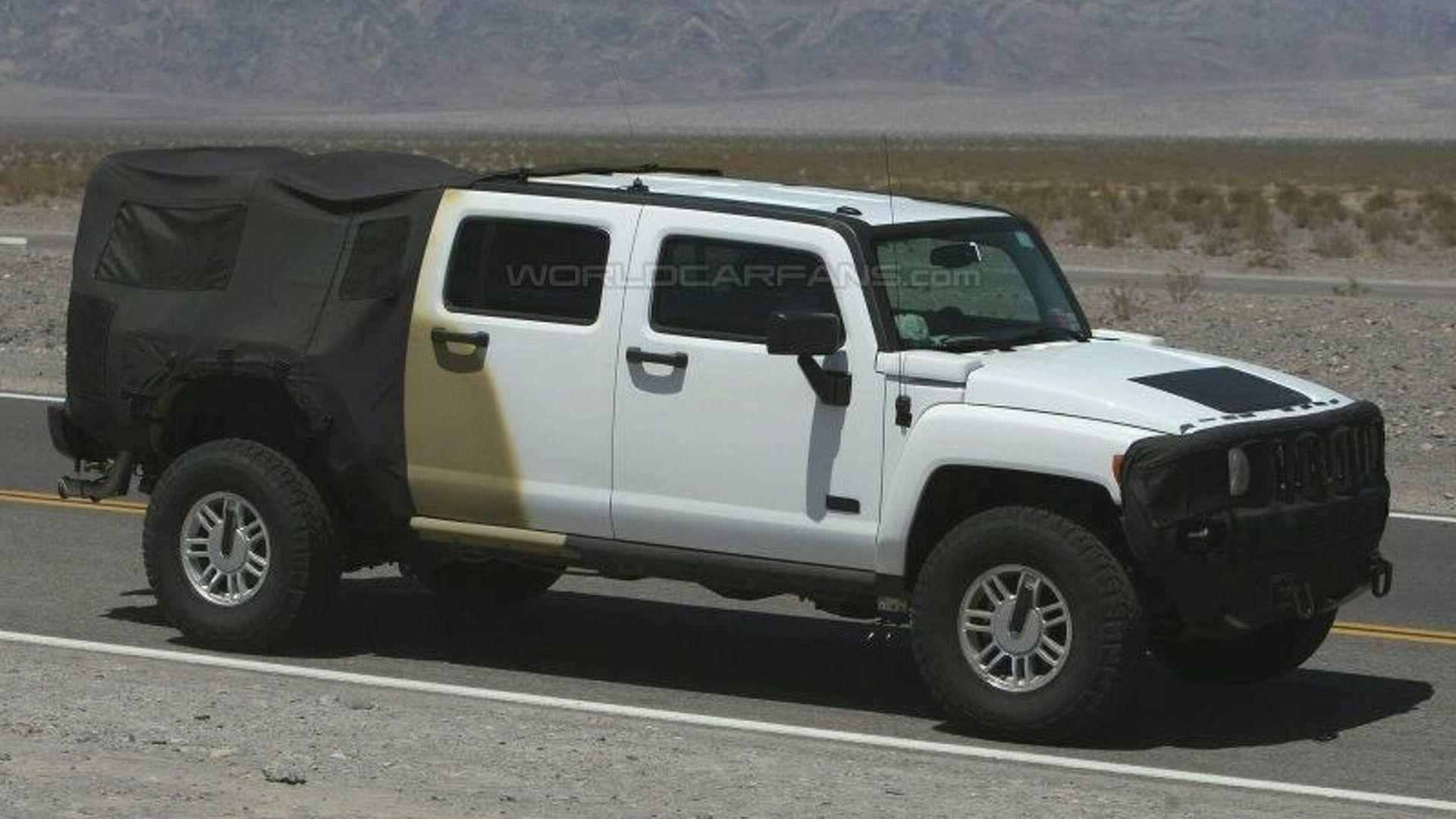 2009 Hummer H3T Latest Spy s