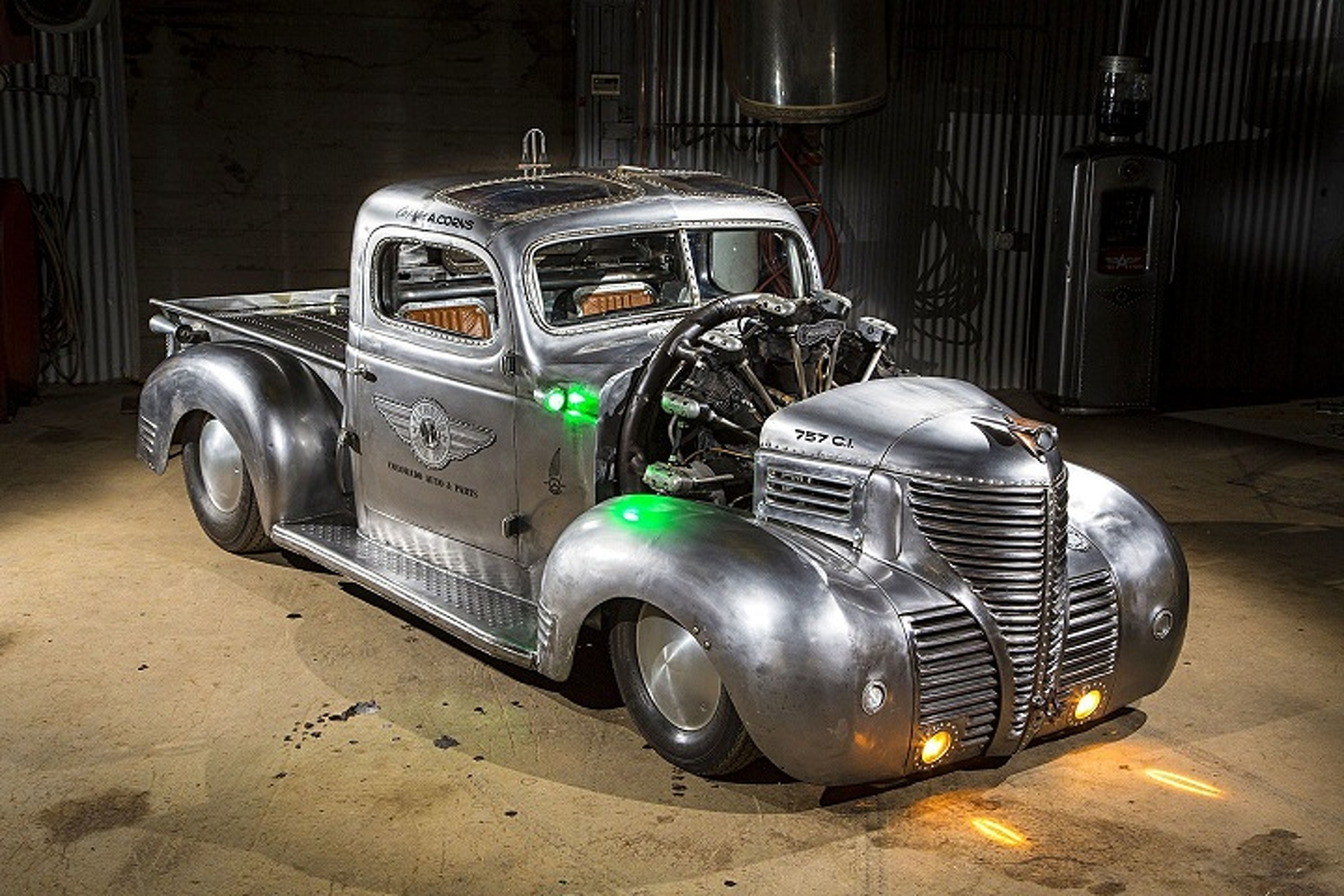 1948 Plymouth Parts Hot Rod Business Coupe Pickup Is An Apocalyptic Airplane Powered Piece Of Art 1920x1280