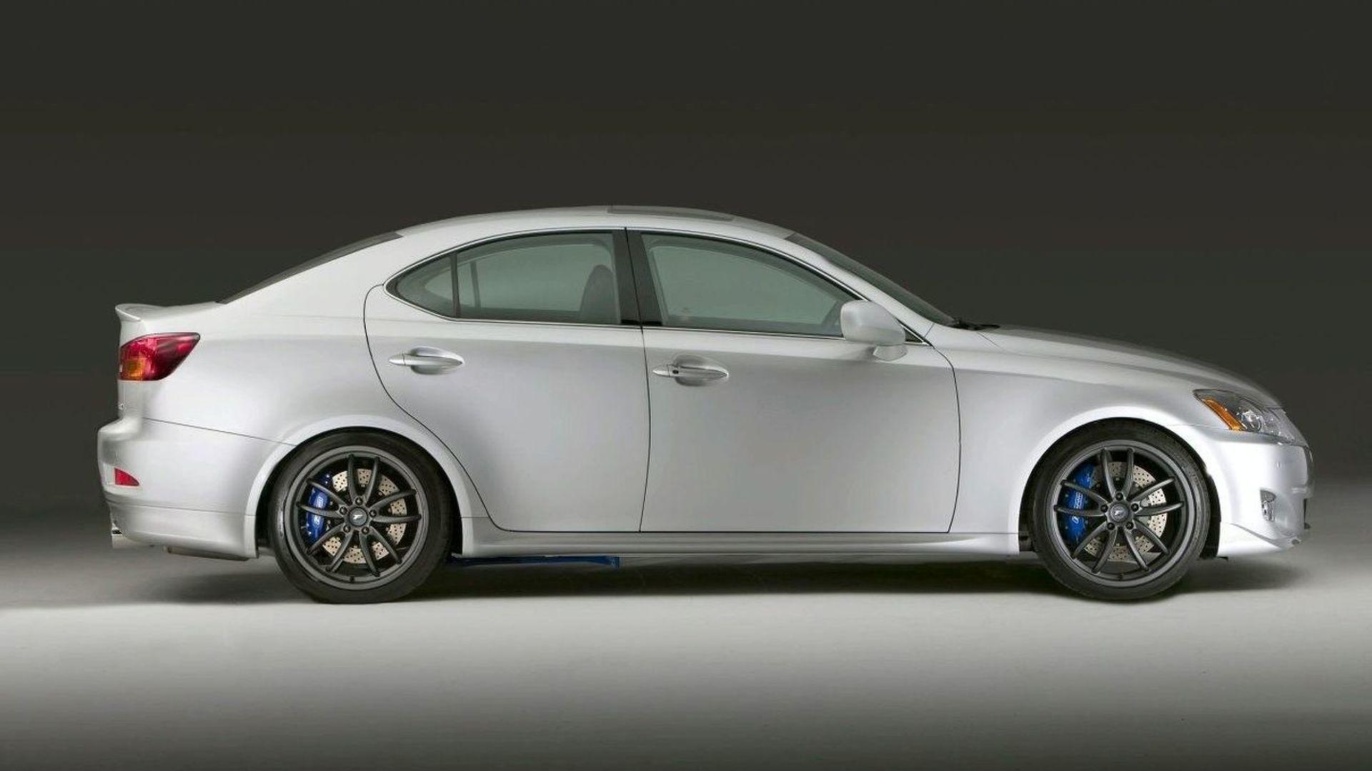 Lexus Debuts F Sport Performance Accessory Line at SEMA