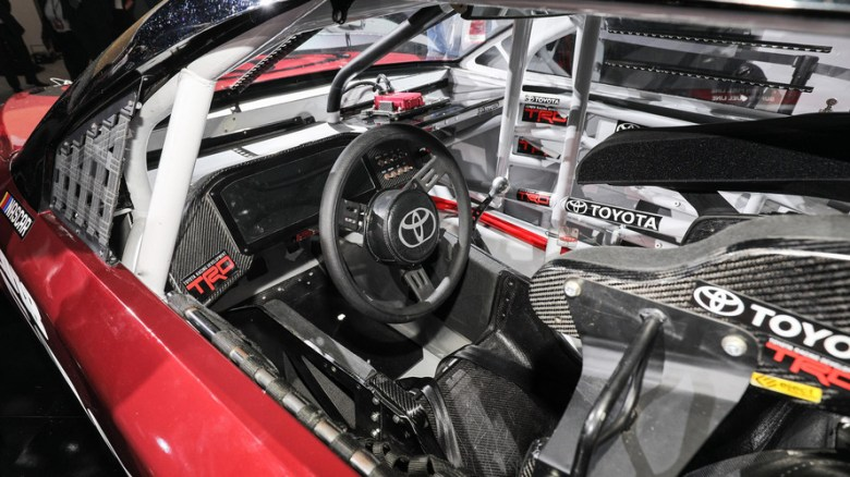 2018 Toyota Camry lends its design to new NASCAR race car
