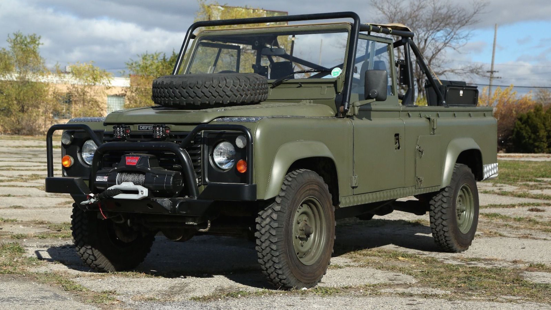 Collection Land Rover Military Vehicles