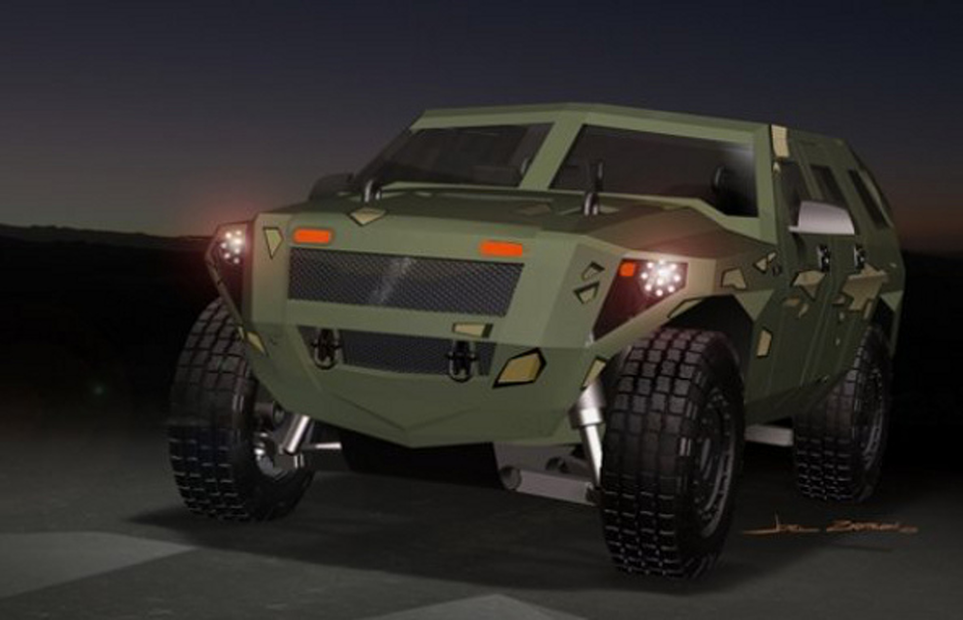 Would You Power A Brand New Humvee Kit