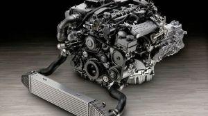 New Mercedes 4Cylinder Diesel Engine