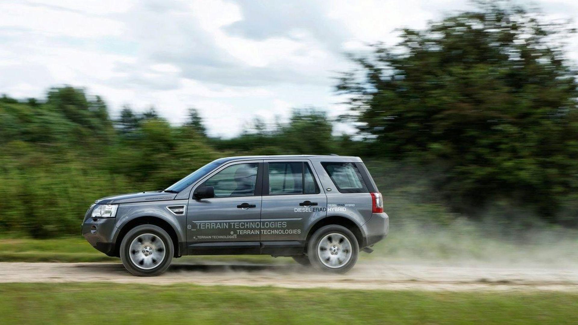 Land Rover Announces Diesel ERAD Hybrid & e Terrain Technologies