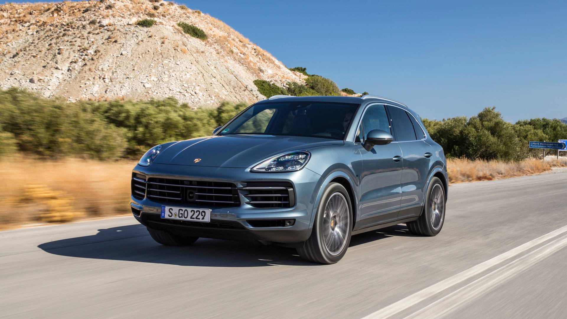 2017 Porsche Cayenne review Still the sports car of SUV world