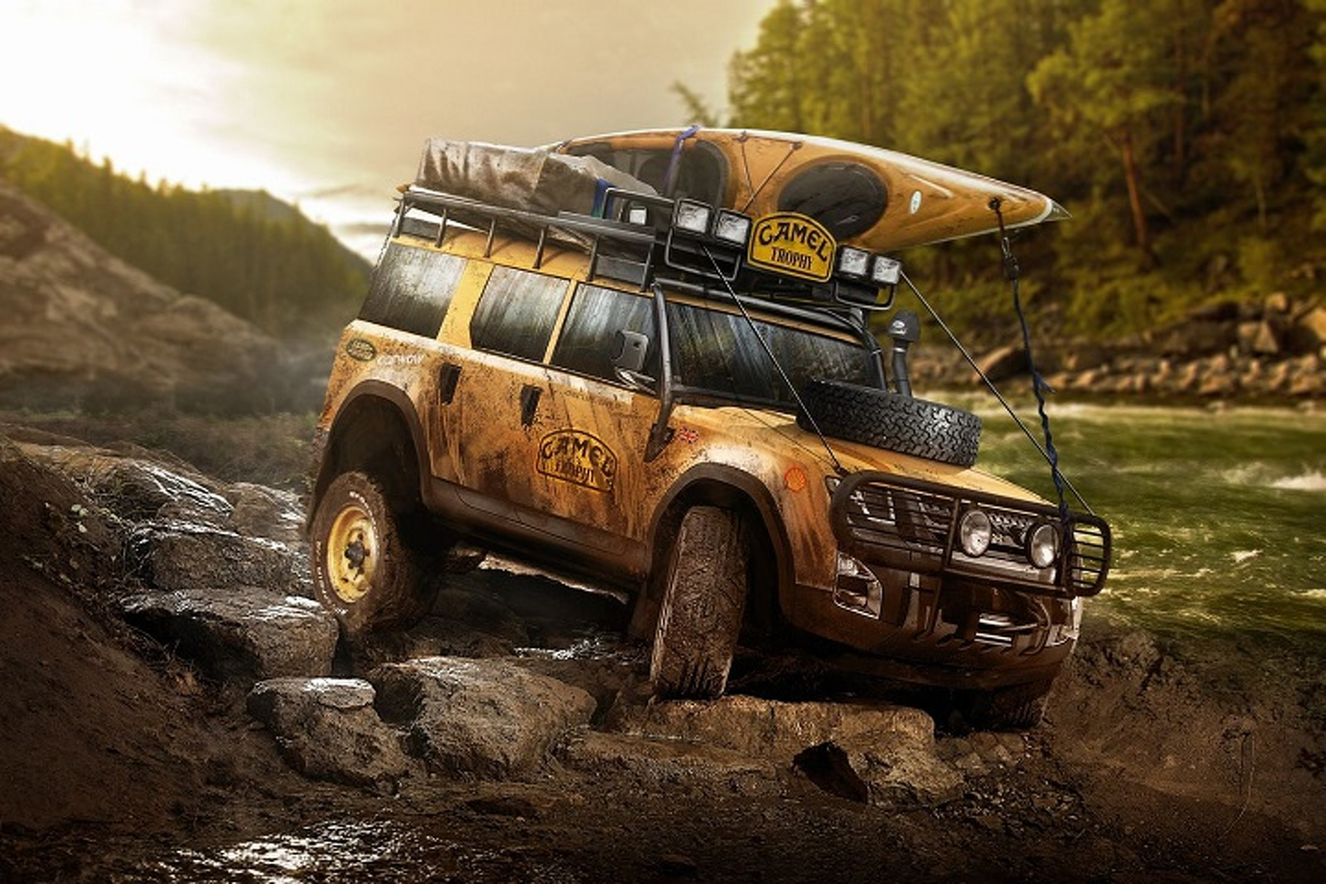 Which of These Crazy Land Rover Defender Concepts Gets Your Vote