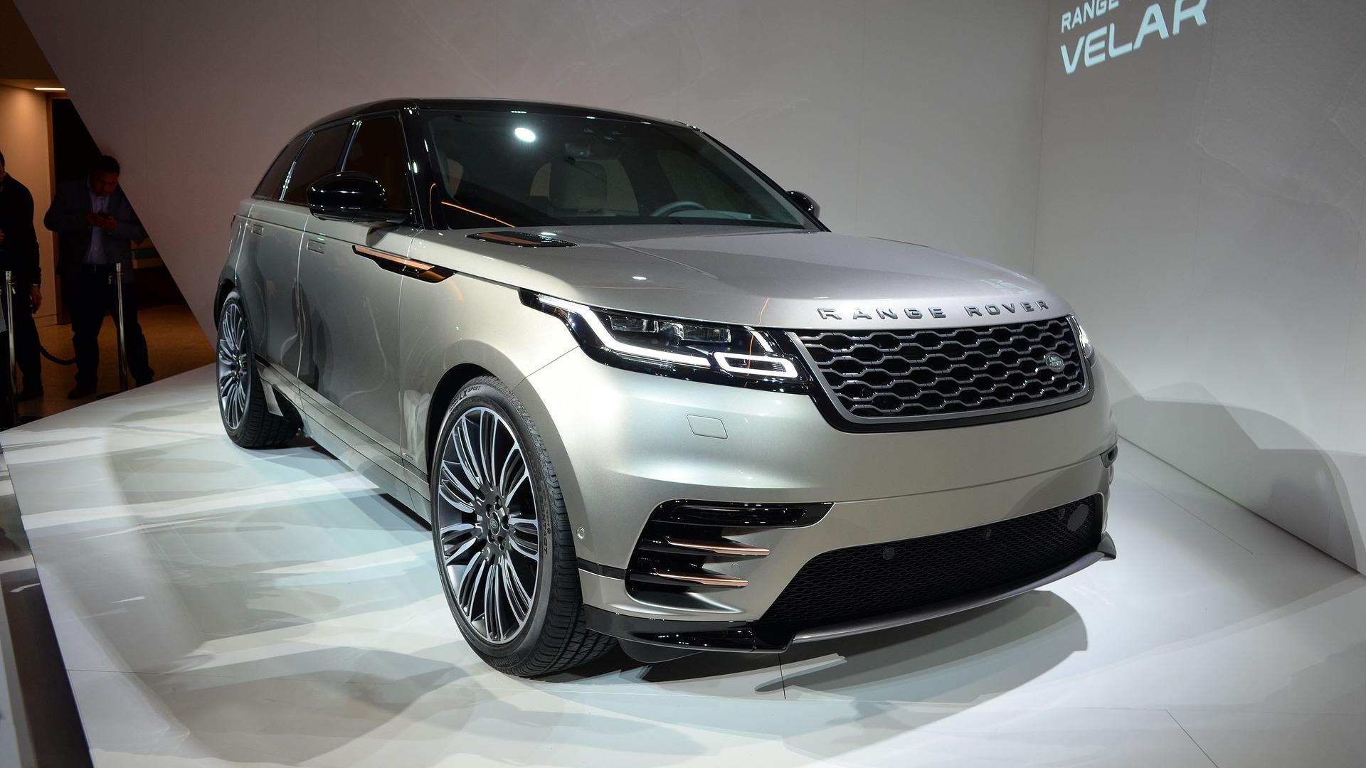 Range Rover Velar And 2018 Jaguar F Type To Debut In New York