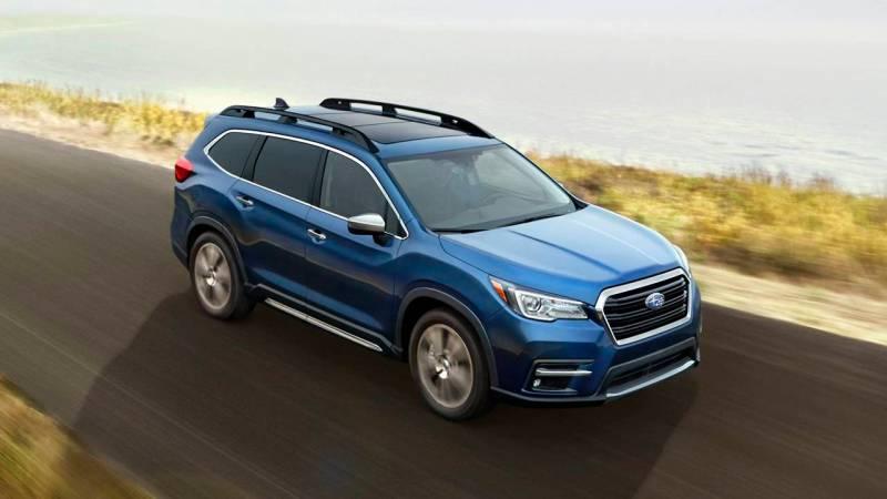 Image Result For All New Subaru Ascent Row Suv Subaru