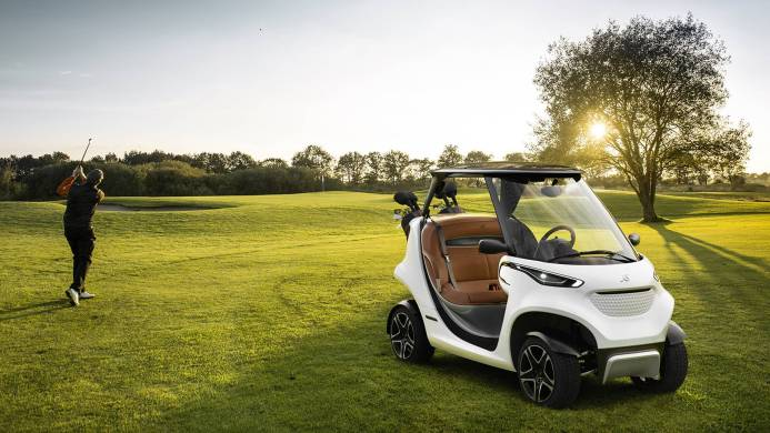Ride In Style & Comfort for Golf Cart