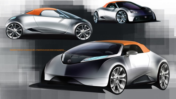 tata sub-brand's rumored sports car concept may change low-cost image