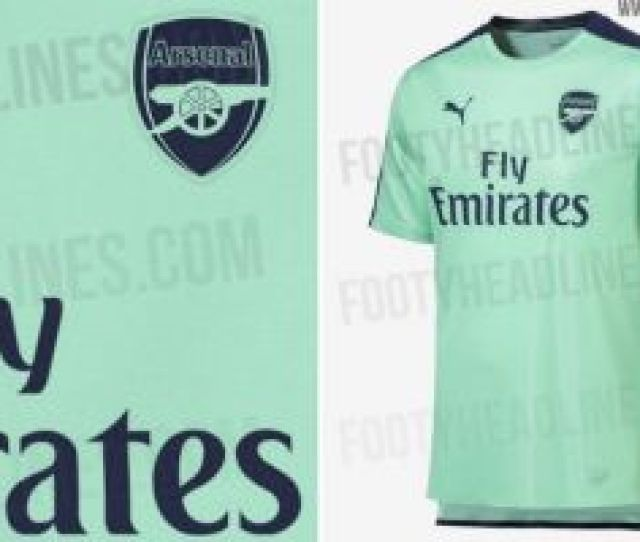 Arsenal New Kit 2018 19 Third Strip By Puma Supposedly Leaked And Its Horrific