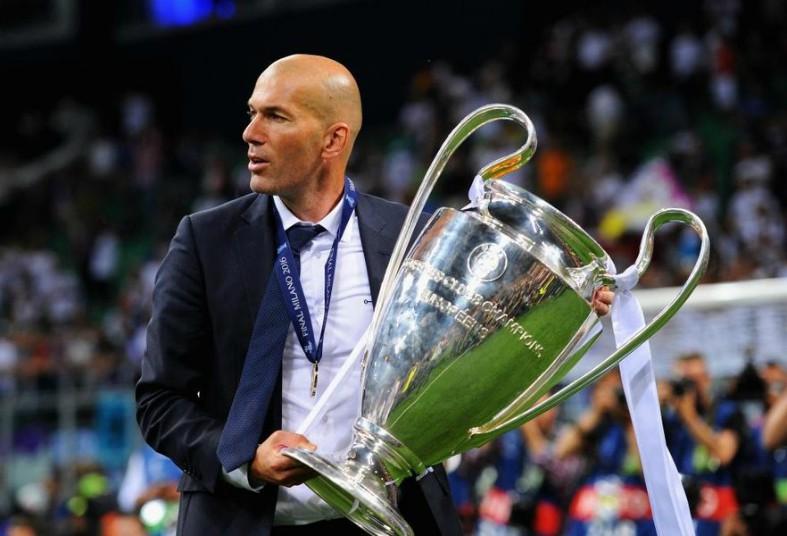 zinedine zidane champions league
