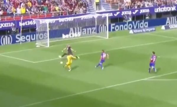 Video: Antoine Griezmann produces composed finish to give Barcelona lead vs Eibar