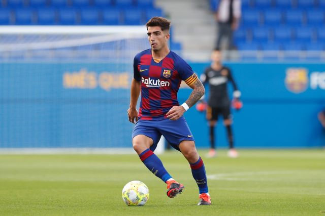 Sassuolo hope to sign Barcelona B team captain Monchu