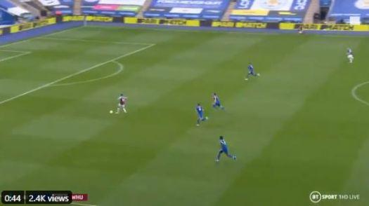 Pablo Fornals goal video West Ham vs Leicester