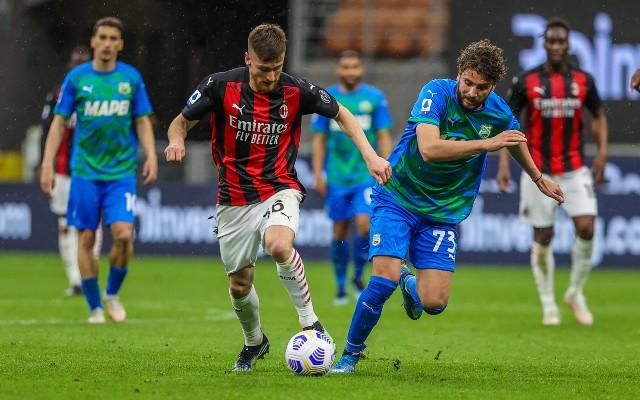 Manuel Locatelli Sassuolo vs AC Milan